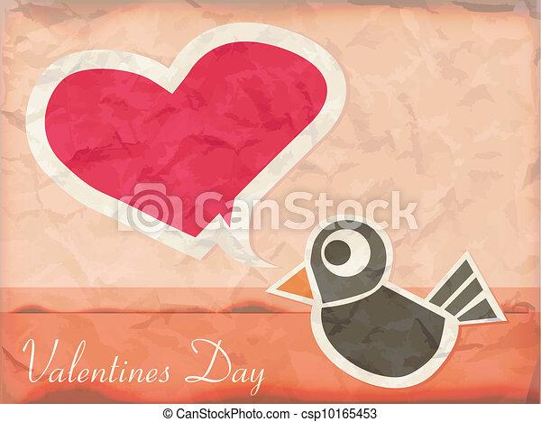 Vintage love card - csp10165453