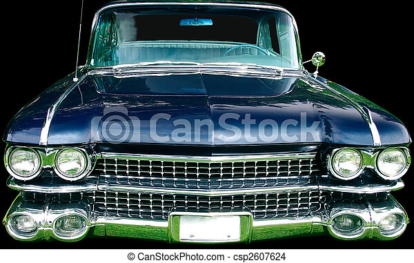 Vintage Luxury Automobile - csp2607624