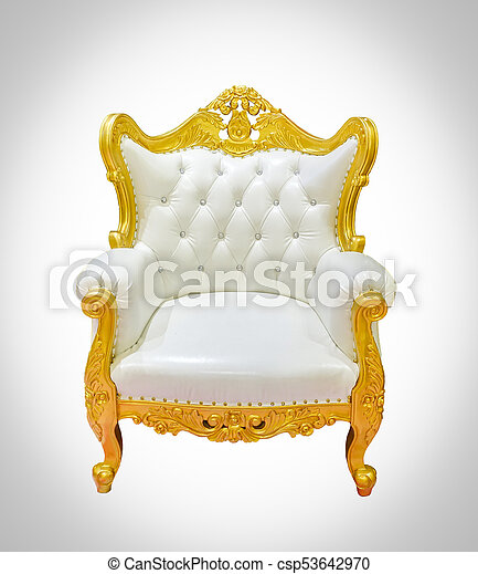 Vintage Luxury Chair   Csp53642970