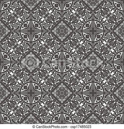 Vintage Middle Eastern Arabic Pattern Vintage Intricate Seamless Impressive Middle Eastern Patterns