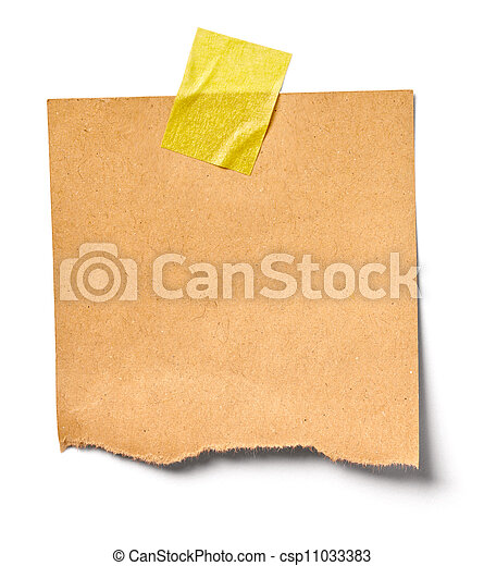 vintage note paper office business - csp11033383