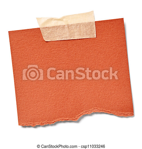 vintage note paper office business - csp11033246