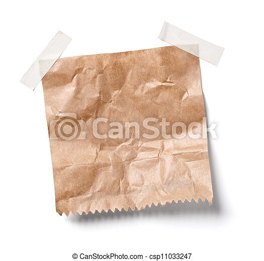 vintage note paper office business - csp11033247