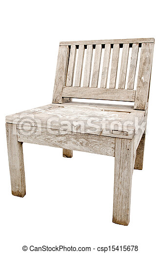 old wooden chair. Exellent Chair Vintage Old Wooden Chair Isolated On White Background  Csp15415678 For Wooden Chair E