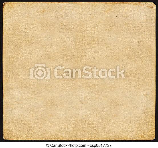 Vintage Paper - csp0517737