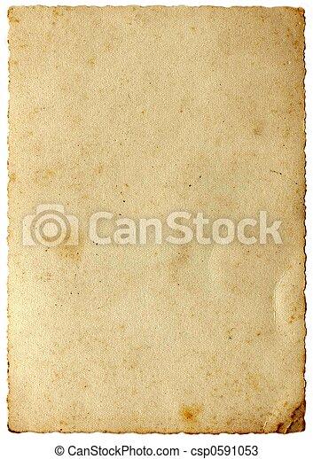 Vintage paper - csp0591053