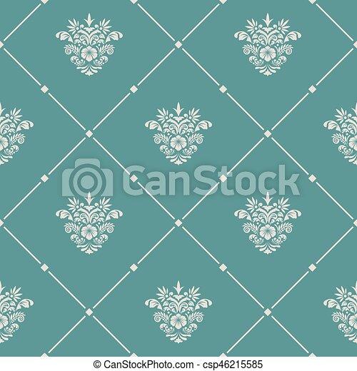 Vintage pattern seamless - csp46215585