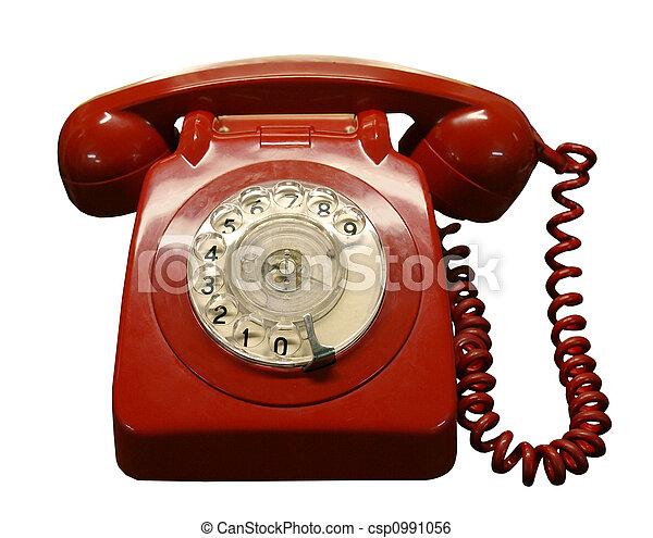 Vintage Phone - csp0991056