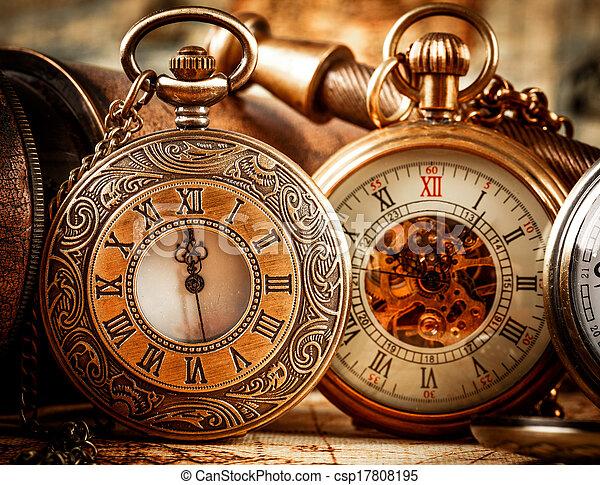 Vintage Pocket Watch Vintage Antique Pocket Watch