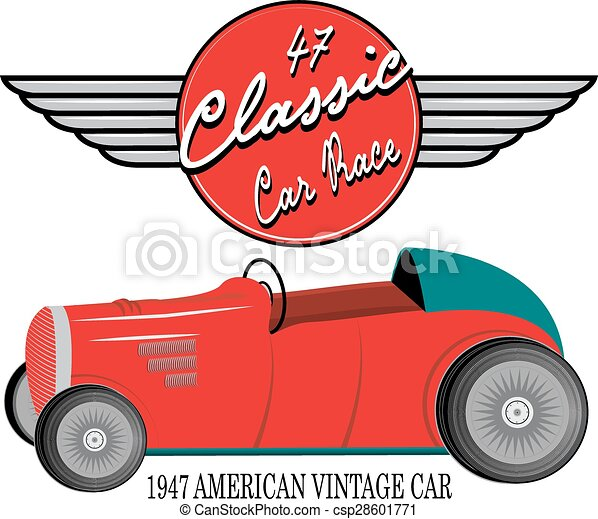 vintage race car for printing vector old school race vectors rh canstockphoto com race car vector free download race car vector art