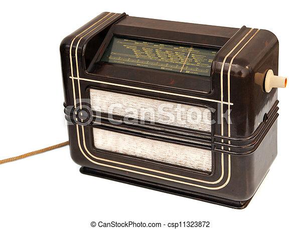 Vintage radio - csp11323872