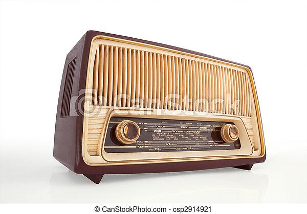 Vintage Radio - csp2914921