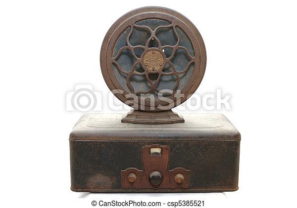 Vintage Radio - csp5385521