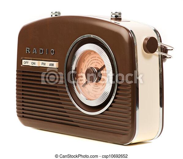 Vintage Radio - csp10692652