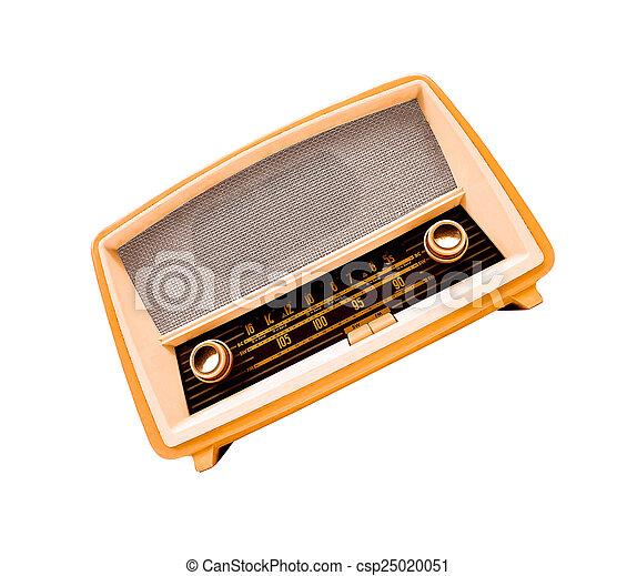 vintage radio - csp25020051