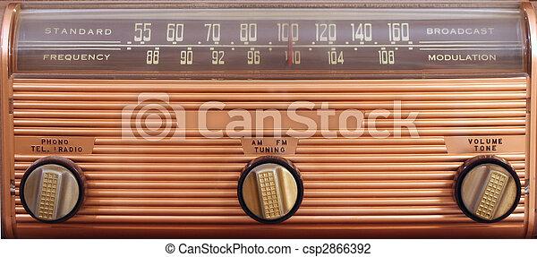 Vintage radio - csp2866392