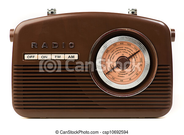 Vintage Radio - csp10692594