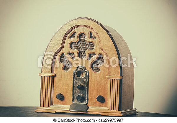 Vintage radio - csp29975997