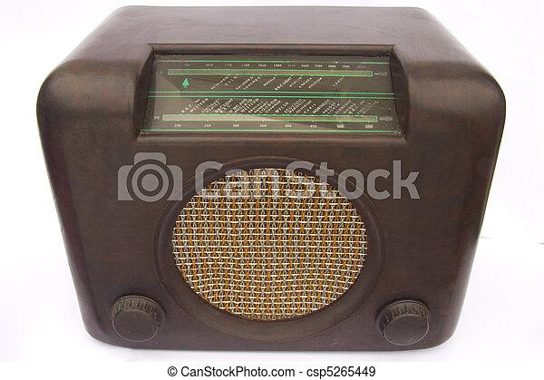 Vintage radio - csp5265449