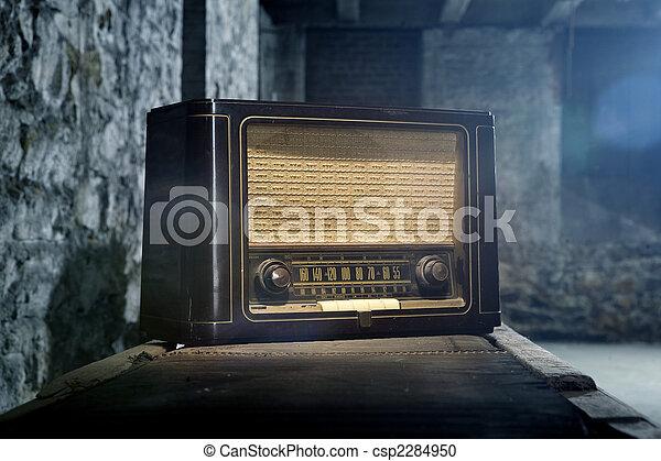 Vintage Radio - csp2284950
