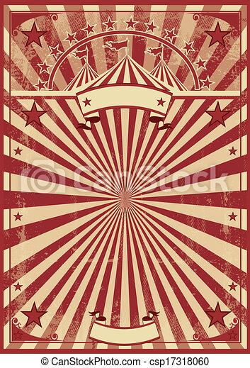 A Vintage Circus Poster For Your Show