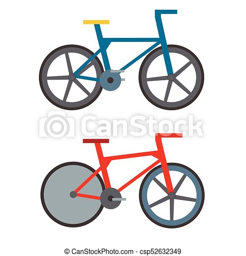 Vintage retro bicycle and style antique sport old fashion grunge flat pedal  ride vector