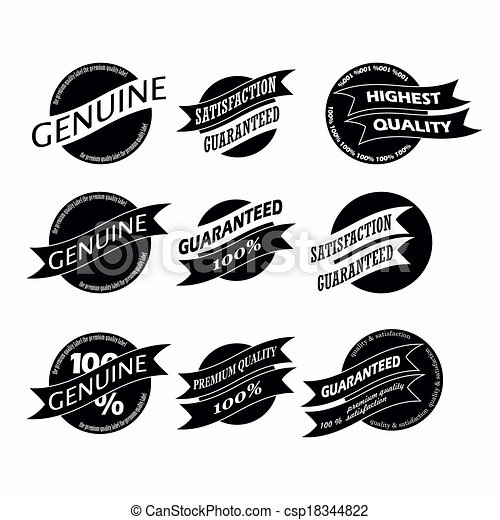 Vintage Retro Icons And Labels - csp18344822