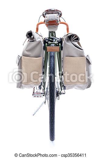 Vintage road bicycle - csp35356411