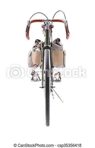 Vintage road bicycle - csp35356418