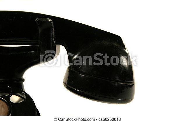 Vintage Rotary Phone - csp0250813