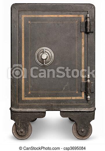 Vintage Safe - csp3695084