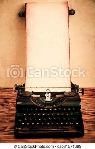 Vintage Santa paper scroll - csp31571399