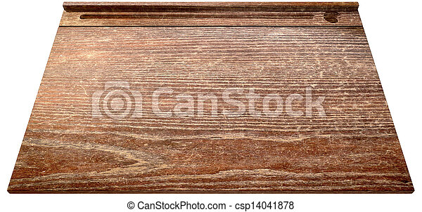 Vintage School Desk Top Perspective   Csp14041878