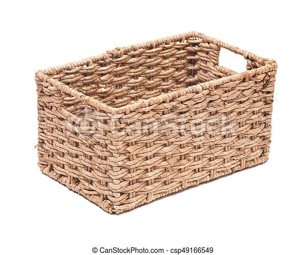 Vintage Seagrass Storage Basket   Csp49166549