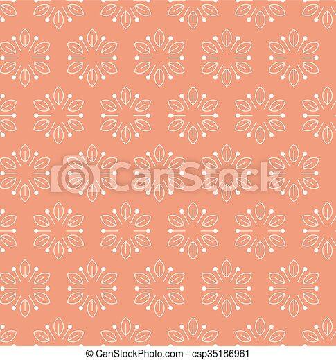 Vintage seamless floral pattern - csp35186961