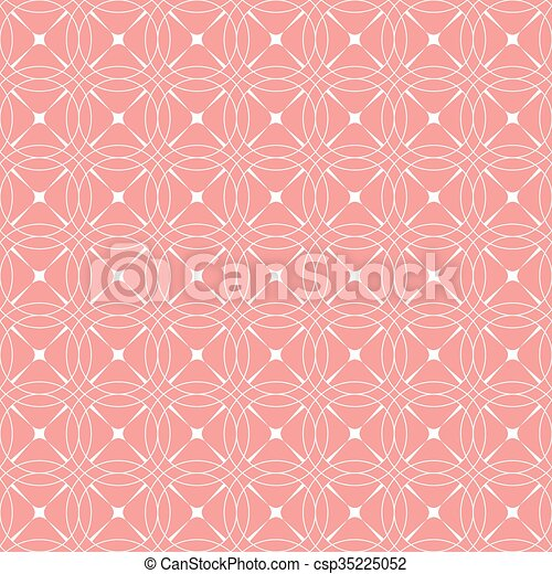 Vintage seamless floral pattern - csp35225052