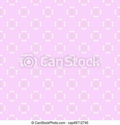 Vintage seamless floral pattern - csp49712745