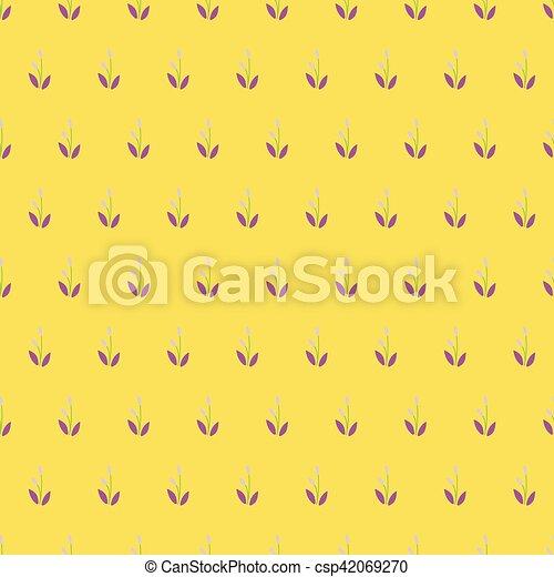 Vintage Seamless Floral Pattern. - csp42069270