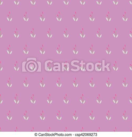 Vintage Seamless Floral Pattern. - csp42069273