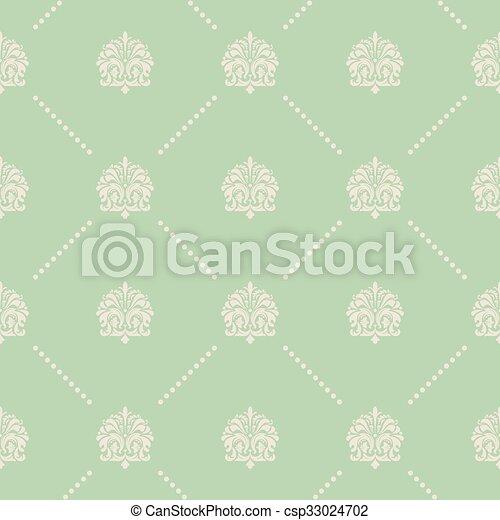 Vintage seamless pattern - csp33024702