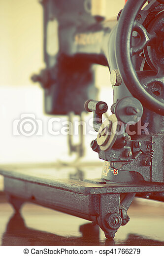 Vintage Sewing Machine Closup Of A Old Italian Sewing Machine Best Italian Sewing Machine