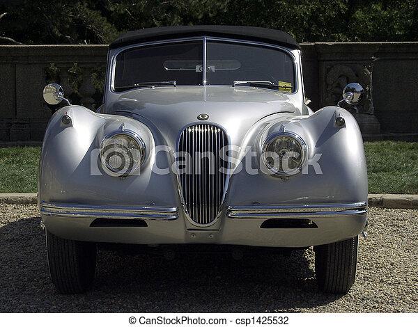 Vintage Sports Car - XK-120 - csp1425532