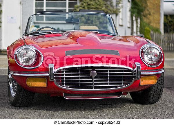 Vintage Sportscar - csp2662433