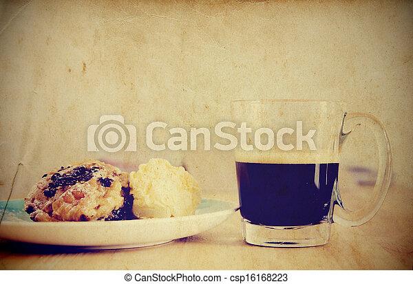 Vintage style Breakfast - csp16168223