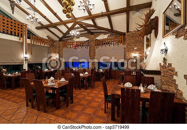 Vintage Style Restaurant Interior Vintage Style Restaurant Interior