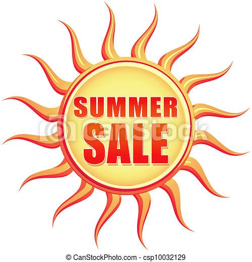 vintage summer sale - csp10032129