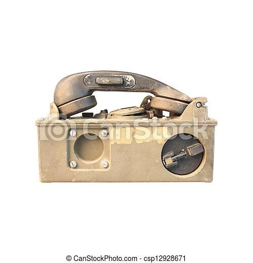 Vintage telephone - csp12928671