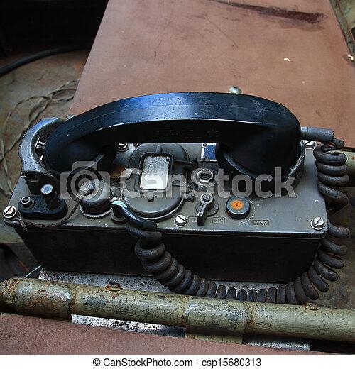 Vintage telephone - csp15680313