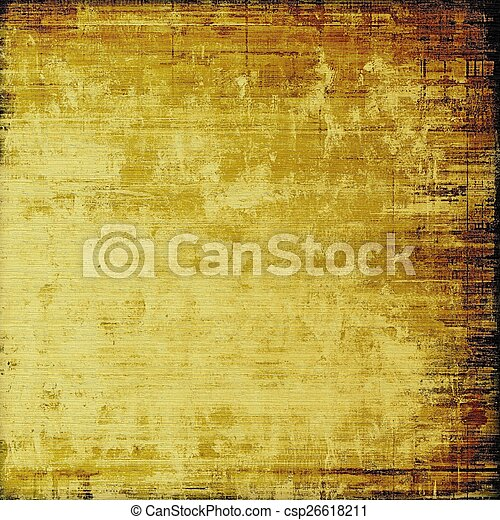 Vintage texture ideal for retro backgrounds. With different color patterns: yellow (beige); brown - csp26618211