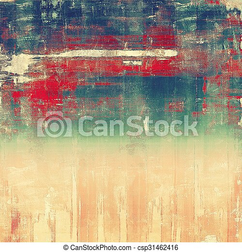 Vintage texture ideal for retro backgrounds. With different color patterns: brown; blue; red (orange); green - csp31462416